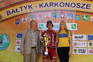 22.ročník Baltyk - Krkonoše Tour - sparťan Tomáš Okrouhlický zvítězil v časovce do vrchu a v poslední královské etapě obsadil 2. místo.