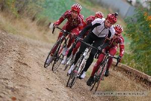 Trénink na trati Tour de Brdy