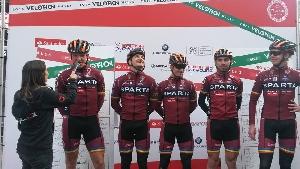 Na závodě 1. kategorie Velothon Wales v Cardiffu obsadil Tomáš Kalojíros 34. místo