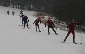 Cyklistická Sparta se připravovala v Brdech na lyžích i na kolech