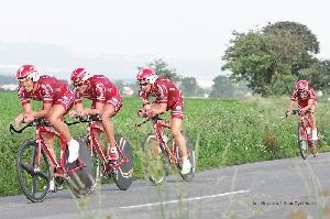 Czech cycling Tour - Roman Broniš 18. místo ve 4. Etapě, celkově 35. místo