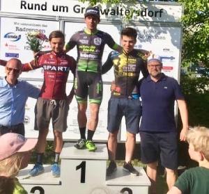 Sparťan Petr Fiala celkově obsadil 2.misto na Chemnitzer Radsportage