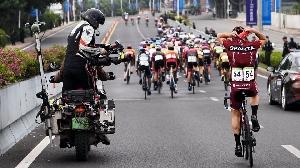 Závodníci Sparty se představili na etapovém závodě Tour of Fuzhou UCI 2.1