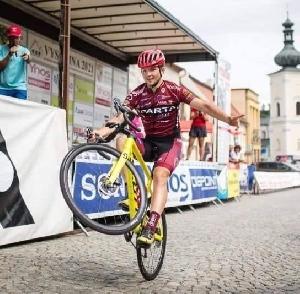 Sparťan Dominik Horák dojel na 9.místě na M ČR v kategorii do 23 let .
