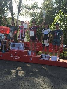 Sparťan Jonáš Vojtěch obsadit 3. místo na kriteriu ve Zwickau a Tomáš Kalojíros 71. místo na Tour du Doubs