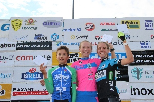 Sparta-cycling junior race dominovala Krist�na Burlov� z P�e�tic