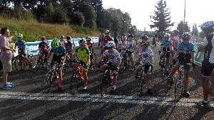 Sparta-cycling junir Race op�t vyhr�la Krist�na Burlov�