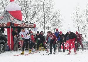 Tříkrálový běh na lyžích v Těškově startuje v sobotu 8.ledna. v 11hodin