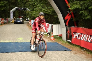 Rostislav Krotký - 2. místo na cyklomaronu Sudety Tour