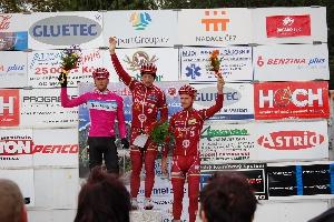 Rostislav Krotký z AC SPARTA PRAHA  vyhrál cyklomaraton okolo Brd .
