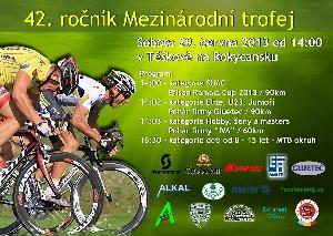 V  sobotu 29.června ve 14.00 hodin odstartuje tradiční cyklistická Mezinárodní trofej
